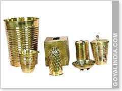 decorative bathroom accessories sets. 7 pcs Bathroom Accessories Set Dust Bin tissue paper holder glass spray  bottle soap dish Decorative