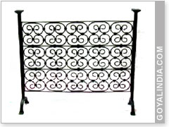 Scroll Sing Fire Screen