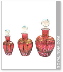 Heart Shape Glass Bottle