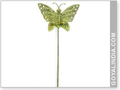 Superbe Butter Fly Garden Stick