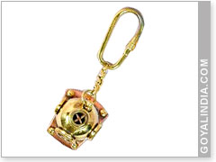 Helmet Key Ring