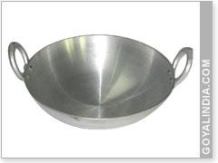 aluminum kitchen utensils.  Aluminum Aluminium Kadhai Inside Aluminum Kitchen Utensils I