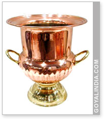 Copper Champagne Chiller